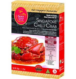 Prima Retail Pack SG Chilli CRAB (320g)