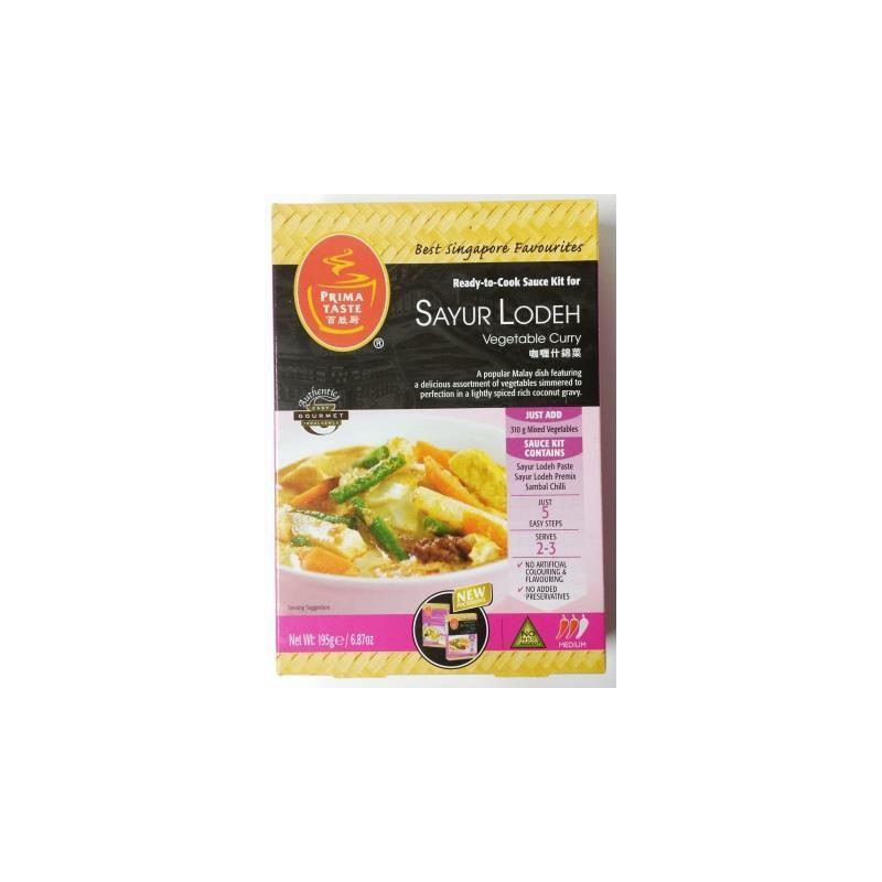 Prima Retail Pack Sayur Lodeh (195g)